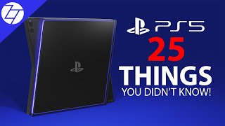 PS5 (2020) - 25 THINGS You DIDN'T Know!