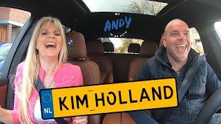 Kim Holland - Bij Andy in de auto! (English subtitles)