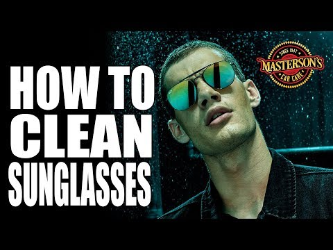 How To Clean Sunglasses - Works On All Glasses - Streak-Free Cleaning