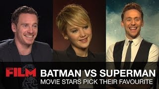 Batman vs Superman: Movie Stars Pick Their Favourite