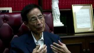 """Interview with Martin C. M. Lee (from HRIC's """"Building Hong Kong's Future"""" series) 採訪李柱銘——建設香港的未來系列"""