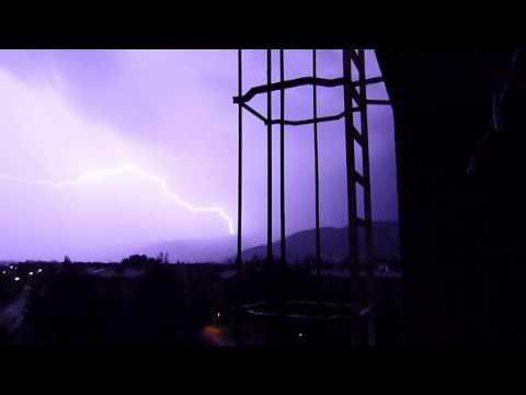 Lightning storm Brežice / Nevihta Brežice Republika Slovenija 04-05-2012
