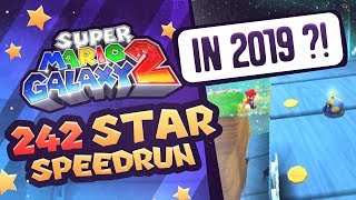 Super Mario Galaxy 2 242 Star Speedrun in 2019 ?!