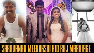 Rio Raj And Sruthi Marriage Stills And Photoshoot Pictures    Saravanan Meenakshi   Jodi No. 1   Rio