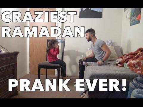 CRAZIEST RAMADAN PRANK EVER!!