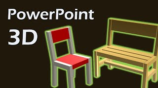 How to Model a 3D Chair In PowerPoint – PowerPoint Tricks