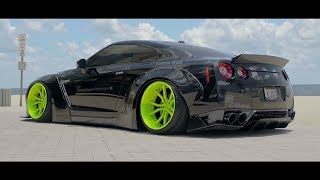 IN LOVING MEMORY OF DOM & HIS ARMYTRIX NISSAN GT-R R35 LIBERTY WALK