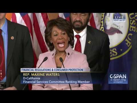 Rep Maxine Waters (D -California) Impeaching Trump & Putin Invading Korea