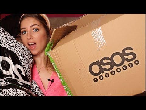 РАСПАКОВКА ПОСЫЛОК с ASOS   Покупка одежды с примеркой
