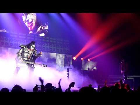 God Of Thunder - KISS - Springfield, IL - Prairie Capital Convention Center - 7/18/11