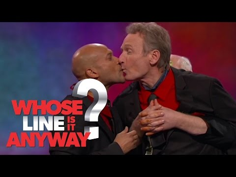 Lady and the Tramp Spaghetti Scene - Whose Line Is It Anyway? US