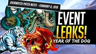 Overwatch EVENT LEAK - Year of the Dog Skin Theme & Patchnotes