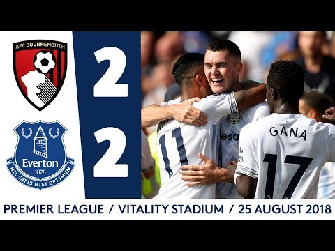 ALL THE GOALS | BOURNEMOUTH 2-2 EVERTON