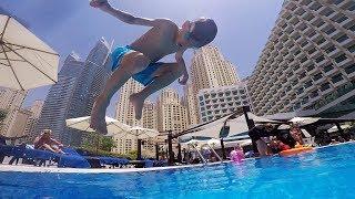 Summer Pool Fun Jumps