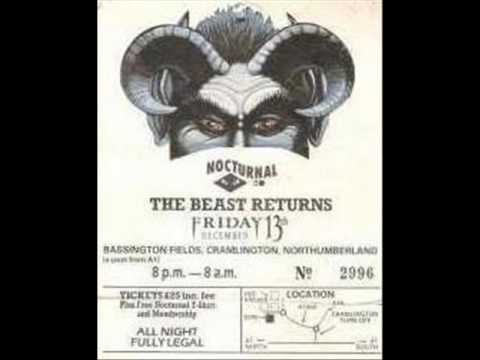 Nocturnal 2 Event @ Cramlington near Newcastle 13-12-91 - DJ Binni