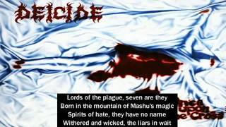 Deicide Once Upon The Cross FULL ALBUM WITH LYRICS