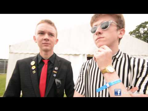 The Strypes Interview | T In The Park 2015 (subs )