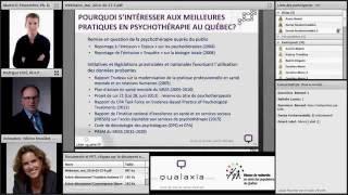 Cible Qualité III- webinaire 4: Les interventions psychologiques de haute intensité