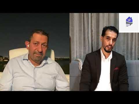دردشة البلاد مع الكاتب و الإعلامي والمدير العام السابق لقناة الجزيرة  ياسر أبوهلالة
