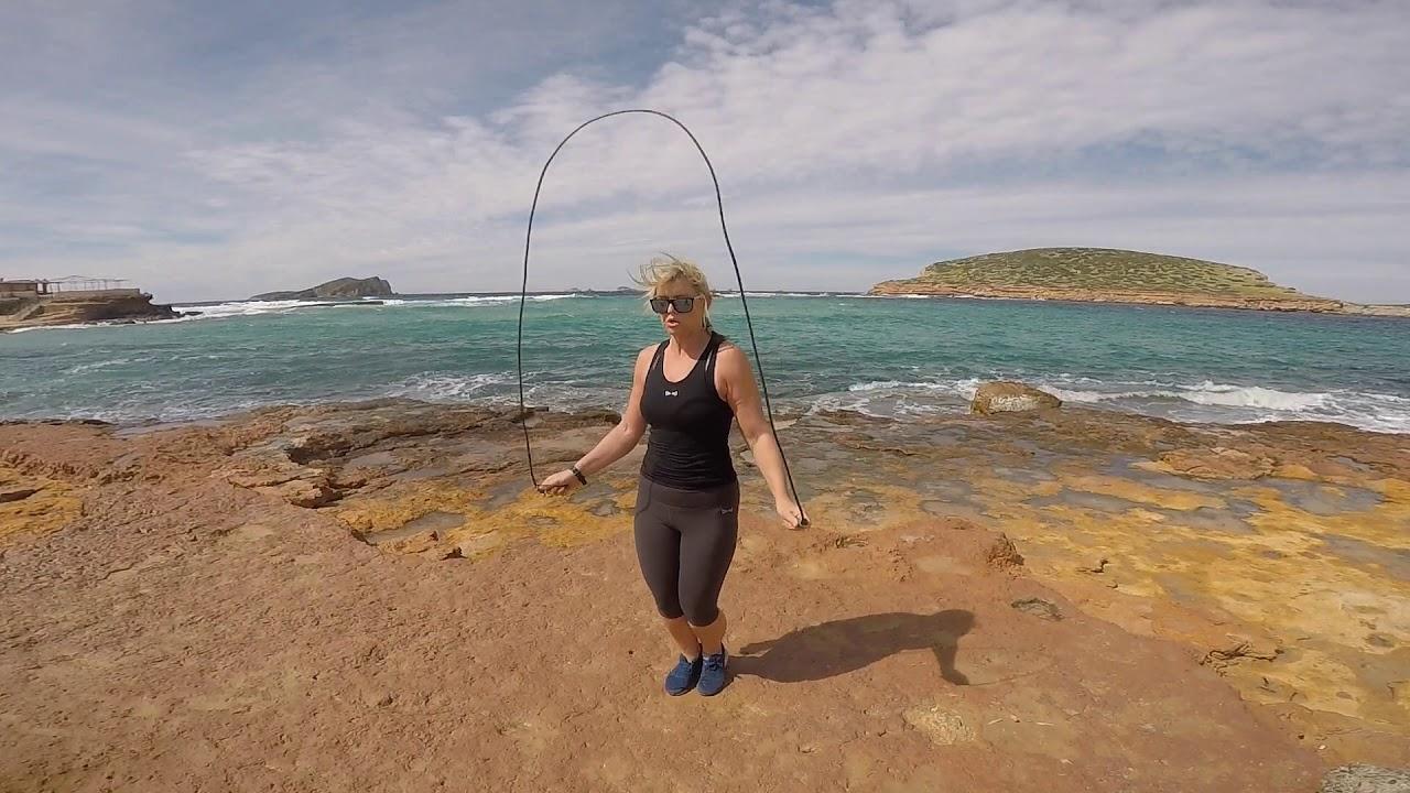 Slow-mo jumping jacks on iPhone6 - YouTube