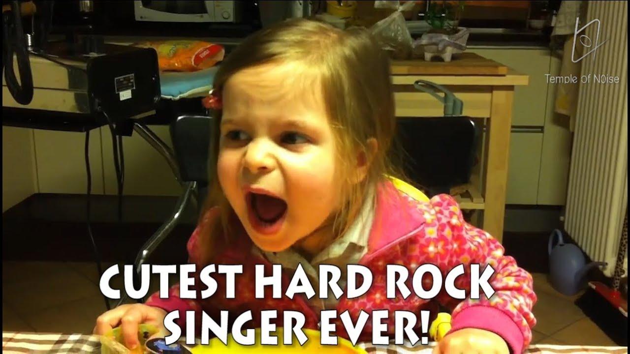 ELISABETTA is THE CUTEST HARD ROCK SINGER EVER