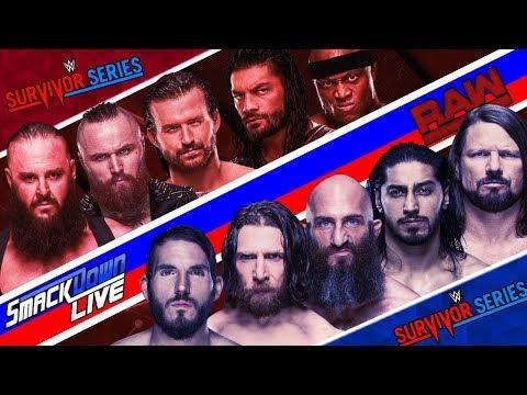 WWE SURVIVOR SERIES 2019 | DREAM MATCH CARD
