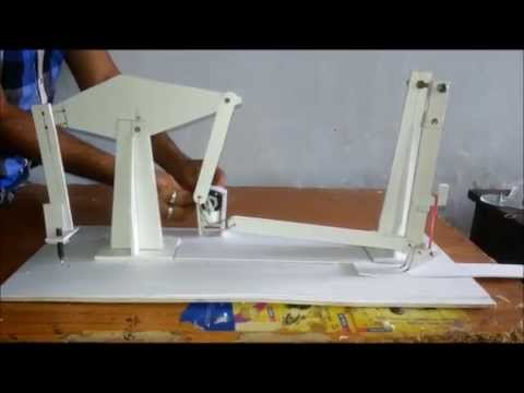 automated feed cutting mechanism model    mini project - YouTube