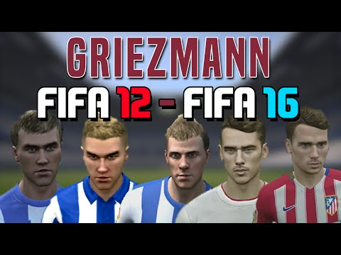 Antoine Griezmann   FIFA 12 - FIFA 16 (Stats, Ingame Face,  Goals, etc)