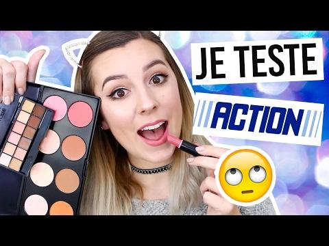 JE TESTE LE MAQUILLAGE ACTION -2€ / Avec Patricia B