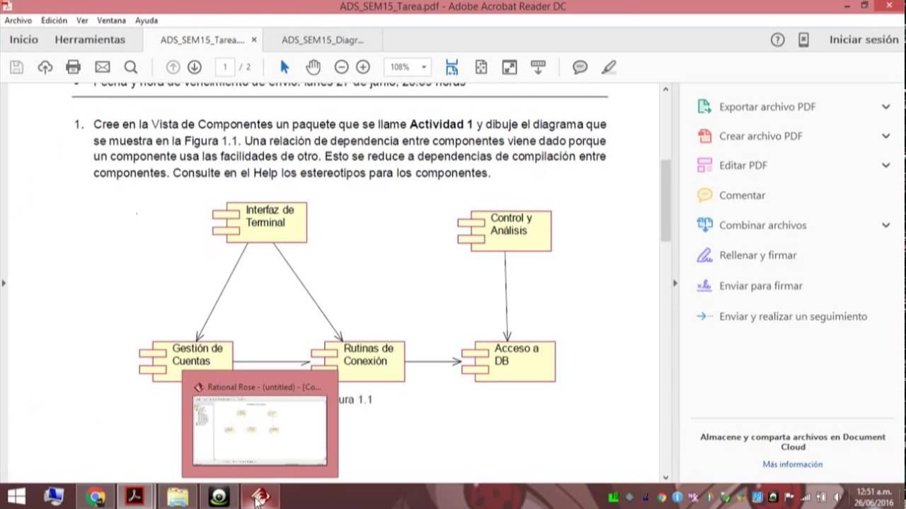 Como Hacer Un Diagrama De Componentes En Rational Roce