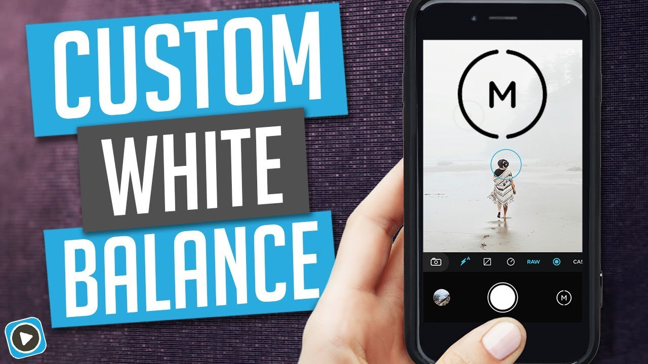 Moment Pro Camera App Setting White Balance For Video Youtube