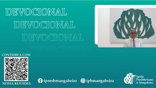Devocional - IPB Mangabeira - 24/05/2020