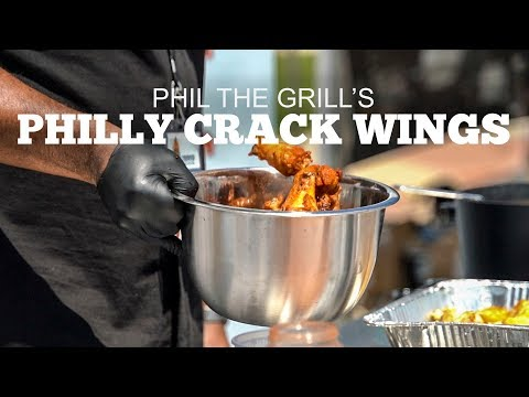 Phil the Grill's Philly Crack Wings