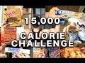15,000 CALORIE CHALLENGE | EPIC CHEAT DAY | MAN vs FOOD