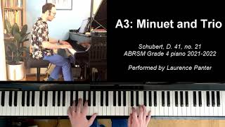 A:3 Minuet and Trio (ABRSM Grade 4 piano 2021-2022)