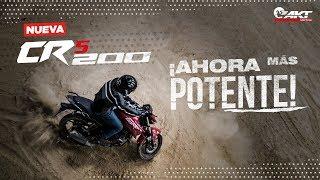 Conoce la nueva moto CR5 200 ¡Experimenta el verdadero poder en las calles!