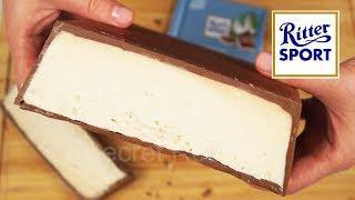 Огромная шоколадка Риттер Спорт с кокосом | Ritter Sport coconut