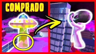 ALL ABOUT THE NEW EXTRATERRESTRIAL UPDATE IN JAILBREAK - ROBLOX -UFO et ALIENS
