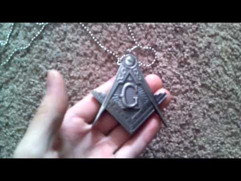 Masonic Necklace Knife Review