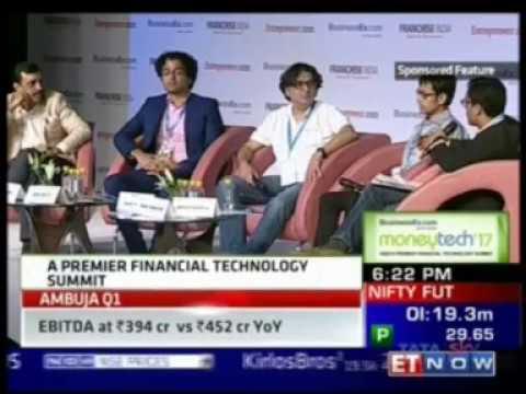 ET Now Moneytech '17 - Adhil Shetty On Credit & Lending