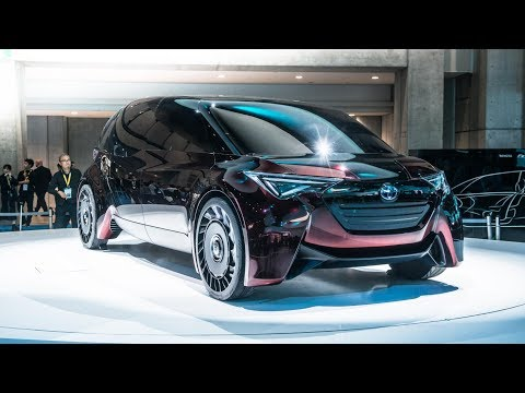 Toyota's Fine Comfort Ride shows new fuel cell tech
