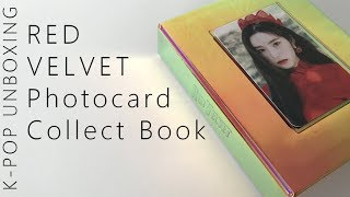 Baixar Red Velvet Peek-A-Boo Photocard Collect Book (with Irene Photocard) | Unboxing