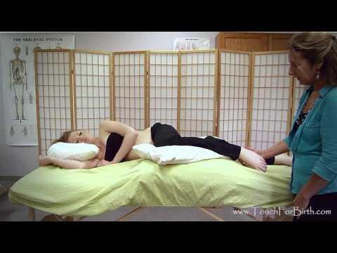 Pregnancy Massage With Leslie Stager RN, LMT:  Sidelying Positioning