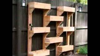 Vertical Planter Boxes Ideas