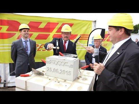 Grundsteinlegung für den neuen DHL Express Standort Hannover