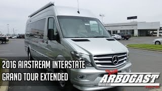 2016 Airstream Interstate Grand Tour Extended Class B Motorhome | Dave Arbogast RV Depot