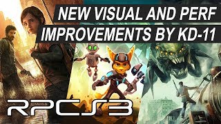 RPCS3 - Improvements in The Last of Us, R&C: A Crack in Time & Resistance 3 by kd-11