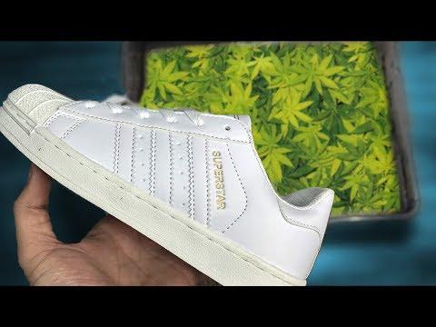 ПОКРАСИЛ КРОССОВКИ Adidas SUPERSTAR Кастом кроссовок Hydro Dipping - CHELIK