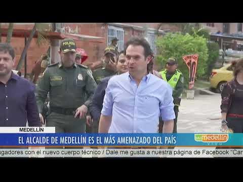Develan nuevo plan para atentar contra el alcalde de Medellín [Noticias] - Telemedellín