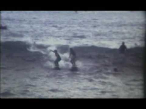 Tony Spanos Surfing Neilson Park In Sydney Harbour 1970